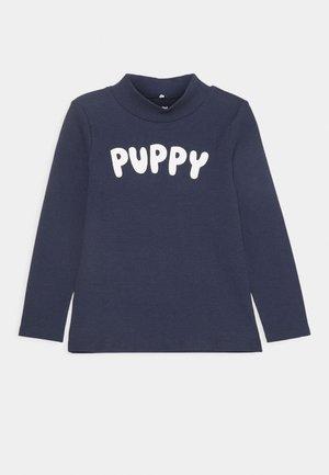 PUPPY TEE UNISEX - Maglietta a manica lunga - navy