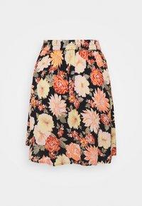 Pieces - PCNYA SKIRT - Mini skirt - black - 1