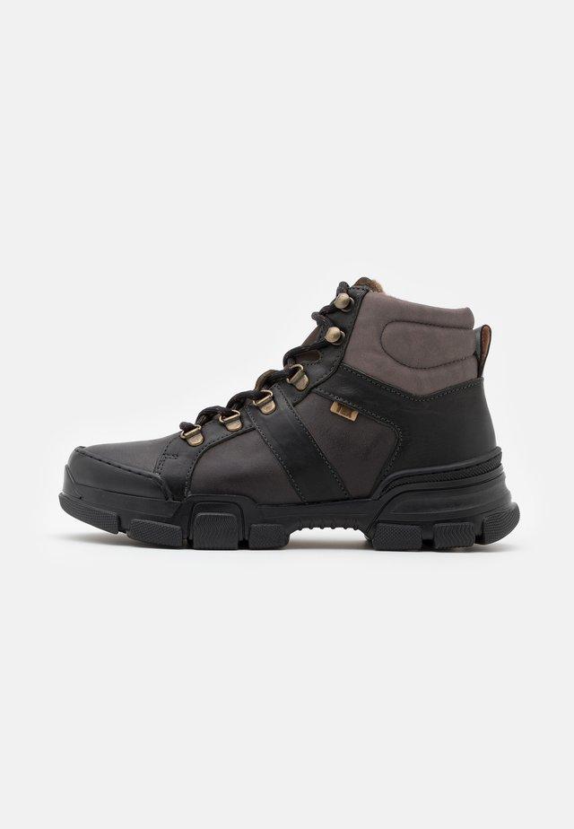 DAMON - Šněrovací kotníkové boty - black