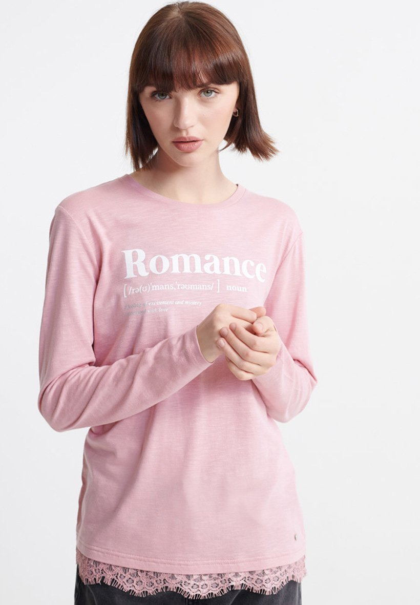 Women TILLY LACE GRAPHIC - Long sleeved top