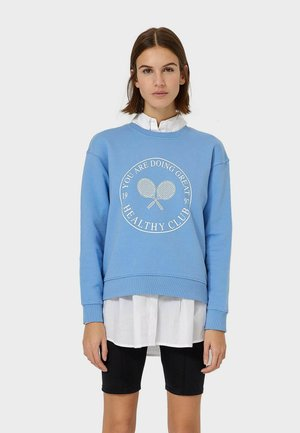 MIT SPORTPRINT - Sweatshirt - blue