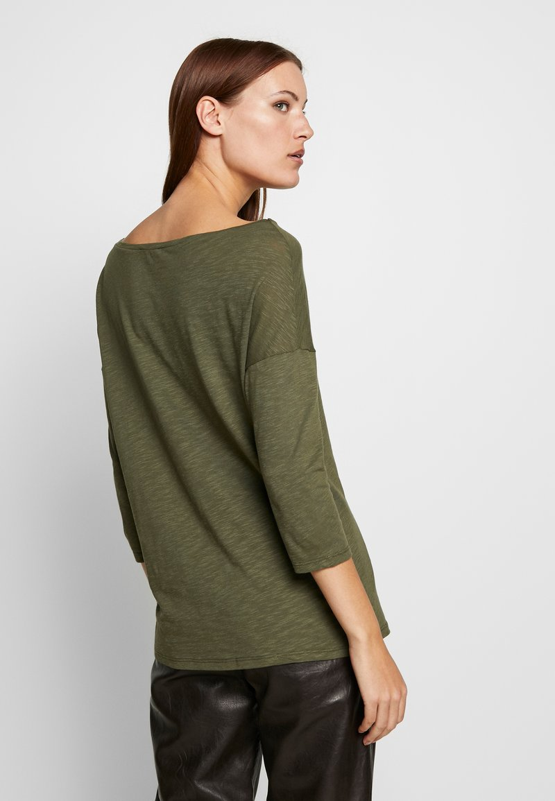 Sisley - Maglietta a manica lunga - khaki