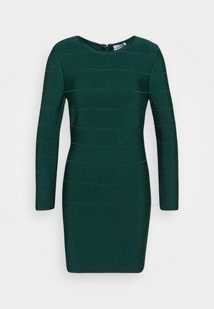 ICON LONG SLEEVE DRESS - Etui-jurk - evergreen