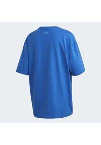 adidas Originals - ADICOLOR 3D TREFOIL T-SHIRT - T-Shirt print - blue - 9