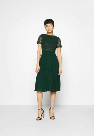 ALICE PLEAT MIDI - Cocktail dress / Party dress - green