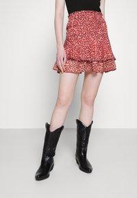 ONLY - ONLMARGUERITE SKIRT - Minifalda - faded rose - 0