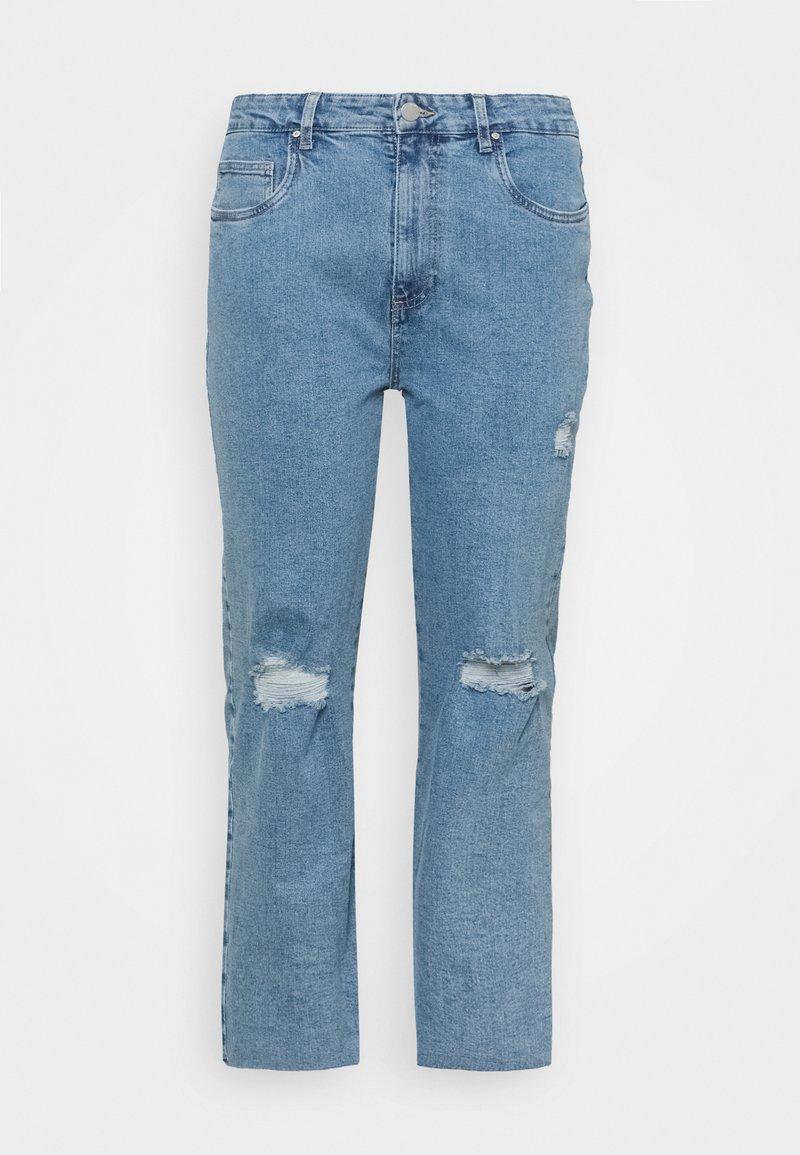 Cotton On Curve - MILLIE - Straight leg jeans - blue
