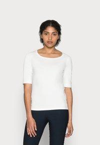 Opus - SANIKA  - T-shirt basic - milk - 0