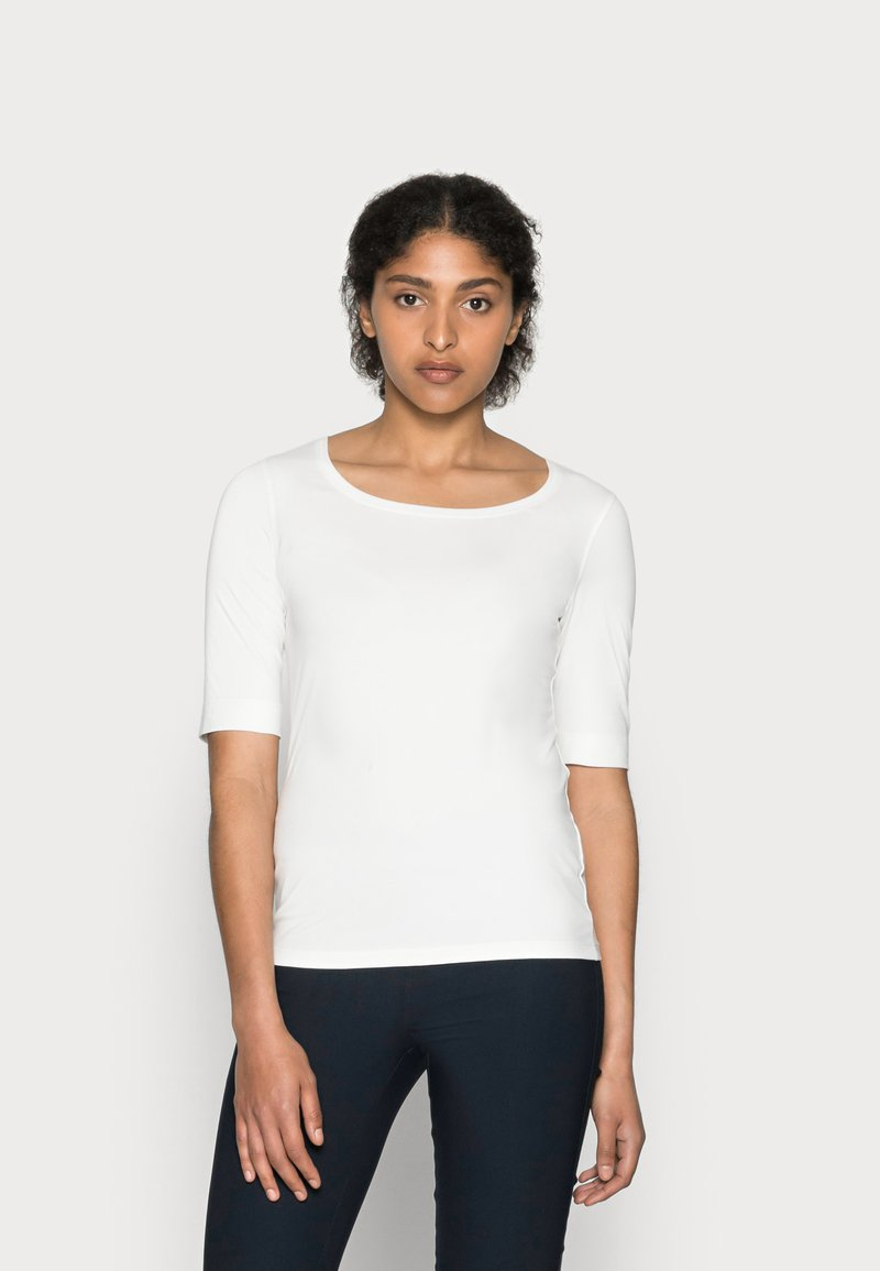 Opus - SANIKA  - T-shirt basic - milk