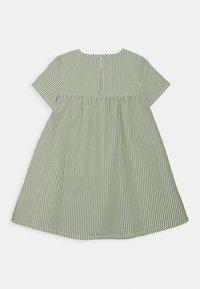 ARKET - DRESS - Denní šaty - green/white - 1