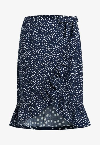 Wrap skirt - all over print