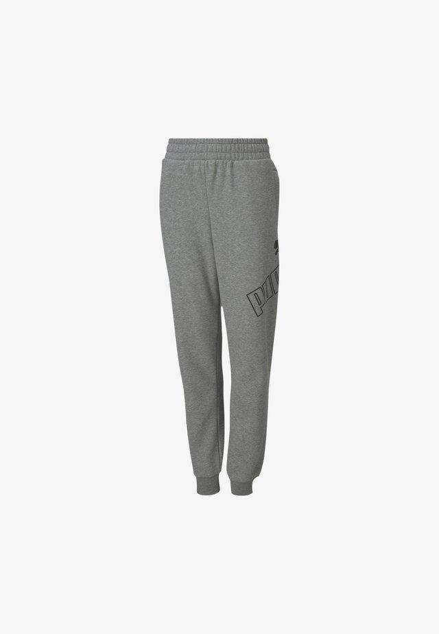 BIG LOGO - Jogginghose - medium gray heather