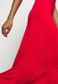 Polo Ralph Lauren - SLEEVELESS CASUAL DRESS - Žerzejové šaty - african red - 4