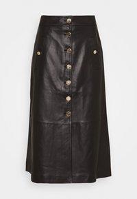 MIDNIGHT SKIRT - Maxi skirt - black