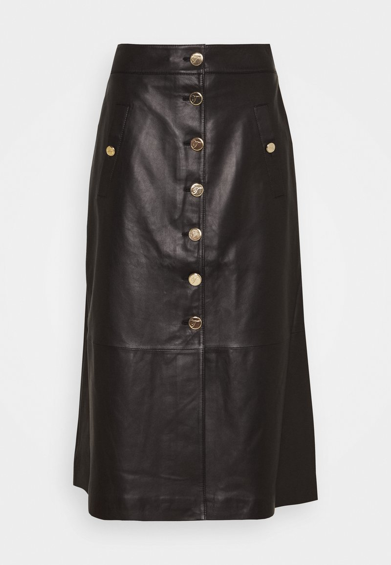 Temperley London - MIDNIGHT SKIRT - Maxi sukně - black