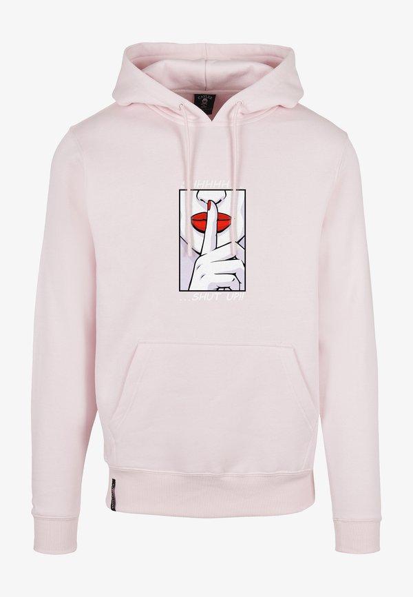 Cayler & Sons WL SHHHH - Bluza z kapturem - pale pink/mc/jasnorÓżowy Odzież Męska VCTQ