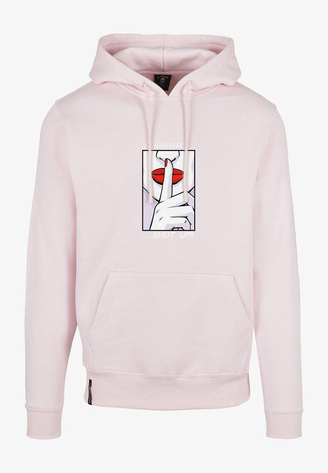 WL SHHHH - Hoodie - pale pink/mc