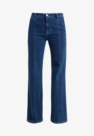 Straight leg jeans - ink marine