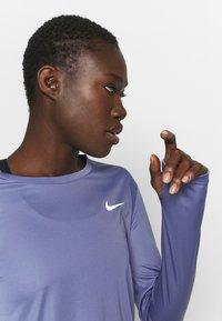 Nike Performance - MILER - Funktionsshirt - world indigo/silver - 3