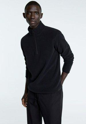 BERLIN-I - Fleece jumper - schwarz