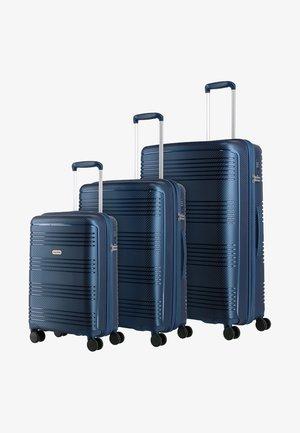 SET PACK - Luggage set - blue