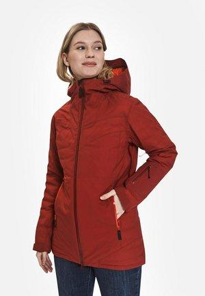 Down jacket - red dahlia