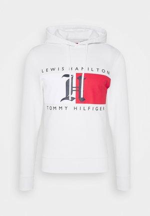 LEWIS HAMILTON UNISEX LOGO HOODY - Sweatshirt - ivory