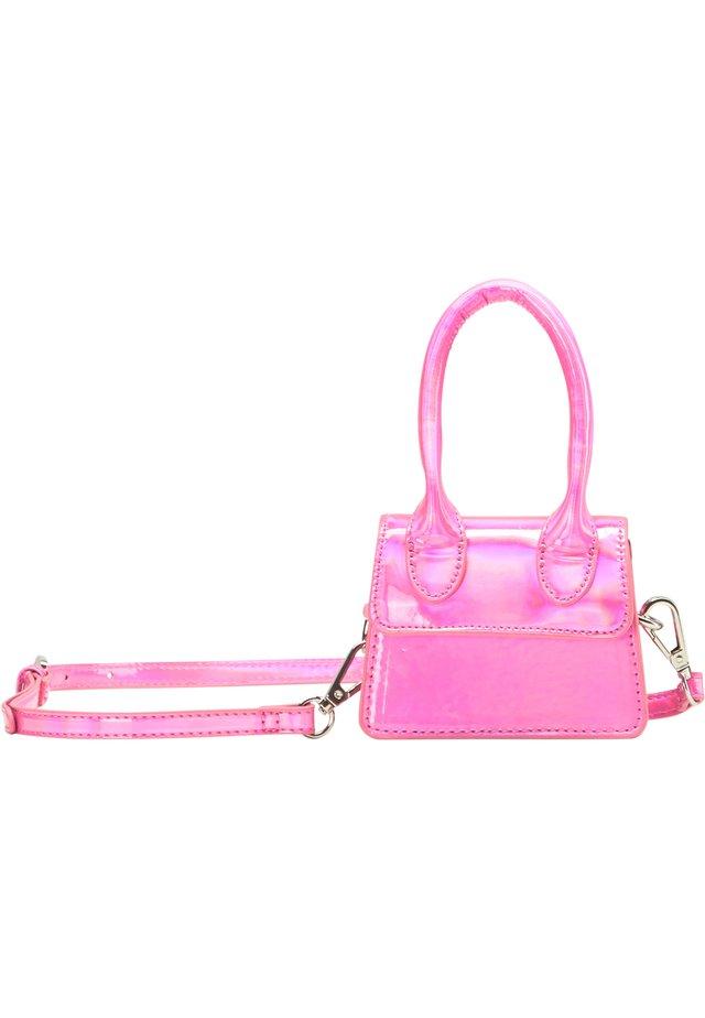 MINI-TASCHE - Handtasche - pink holo