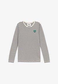 Wood Wood - KIM KIDS LONG SLEEVE - Langarmshirt - off-white/navy stripes - 2