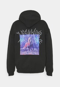 Mennace - LIGHTNING STEED REGULAR HOODIE - Luvtröja - black - 8