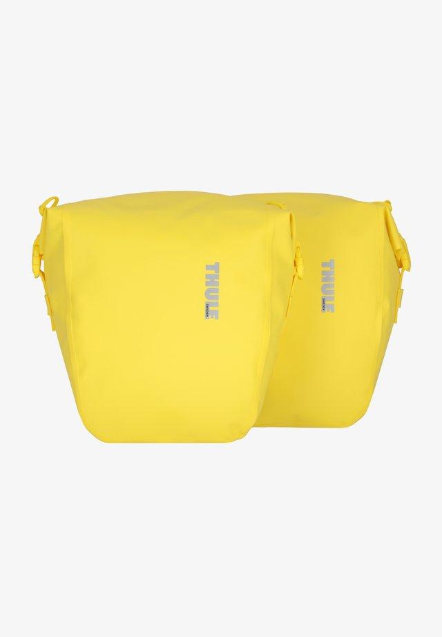 SHIELD PANNIER  - Across body bag - yellow
