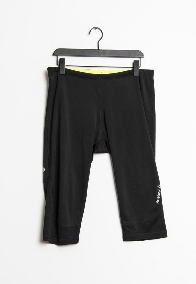 3/4 sportbroek - black