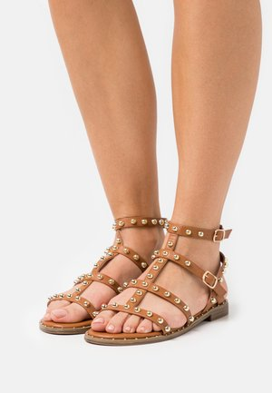 PAOLA - Sandals - brown