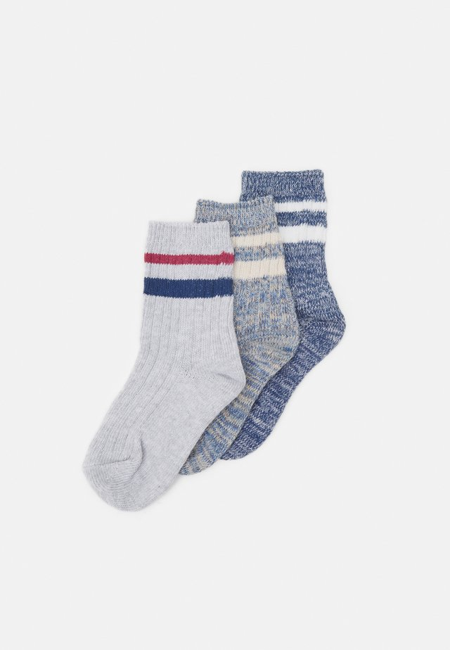 KIDS 3PACK CREW SOCK - Socks - blue twist