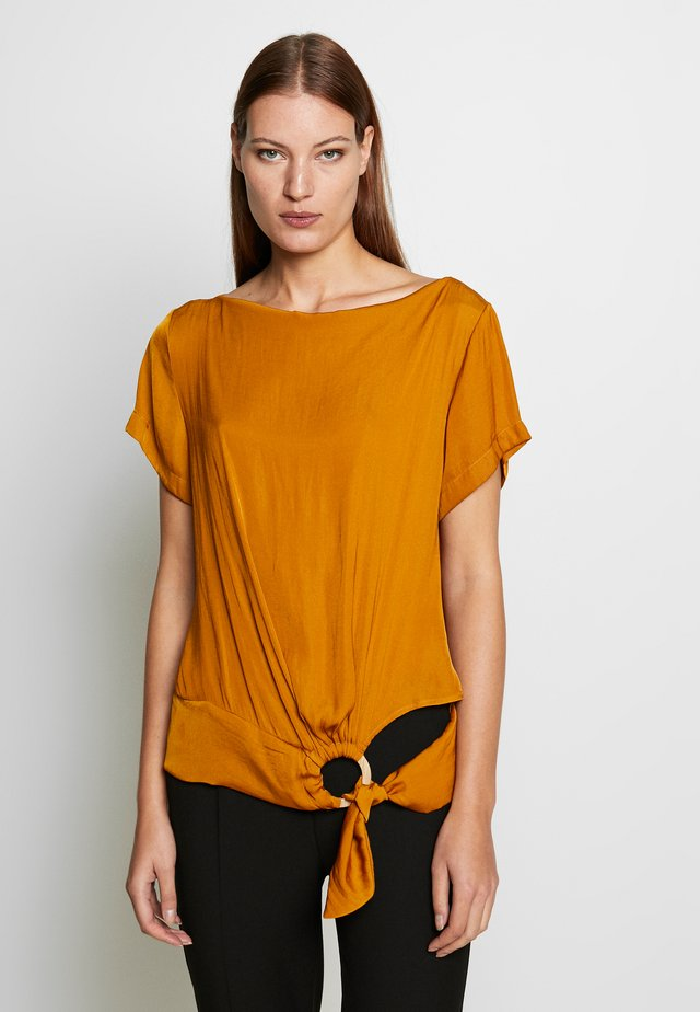 BLOUSE - Pusero - yellow