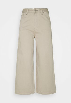 AIKO CROPPED - Relaxed fit jeans - cashew