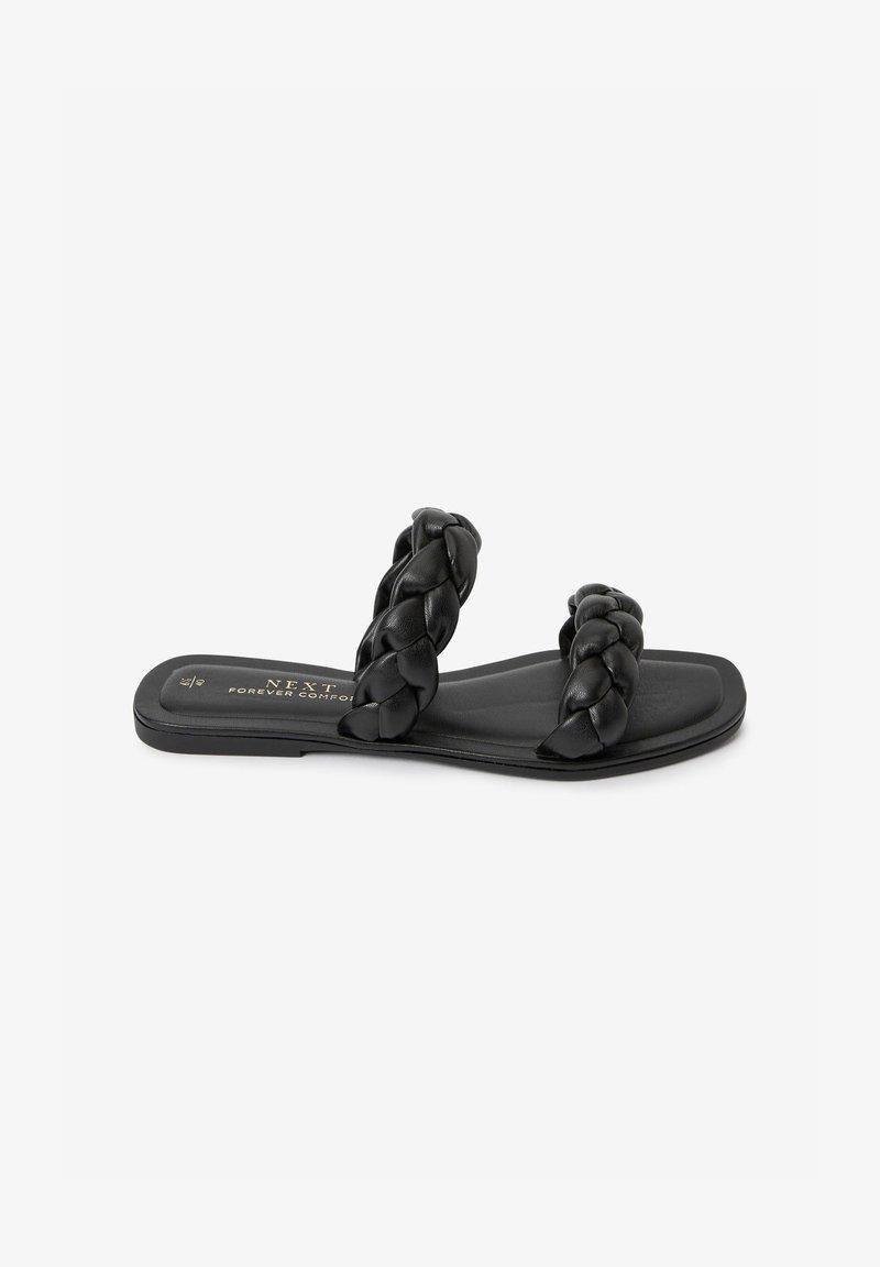 Next - FOREVER COMFORT® PLAITED - Slippers - black