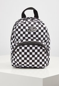 Vans - WM GOT THIS MINI BACKPACK - Rucksack - black-white checkerboard - 2