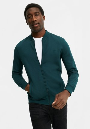 Zip-up hoodie - dark green