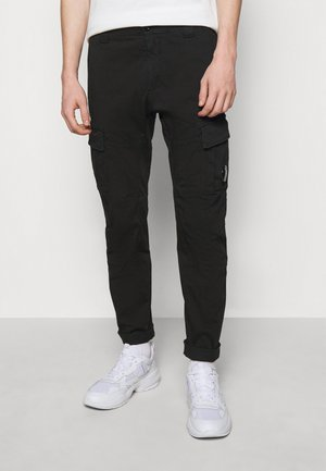 PANTS - Pantalon cargo - black