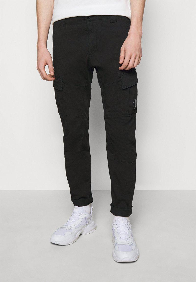 C.P. Company - PANTS - Cargo trousers - black