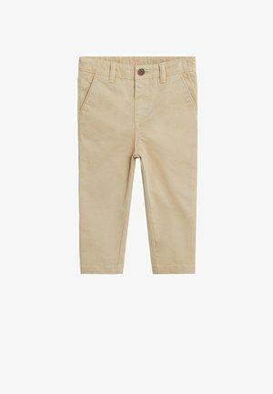 CHINO7 - Trousers - sandfarben