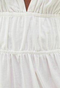 Bershka - Maxiklänning - white - 4