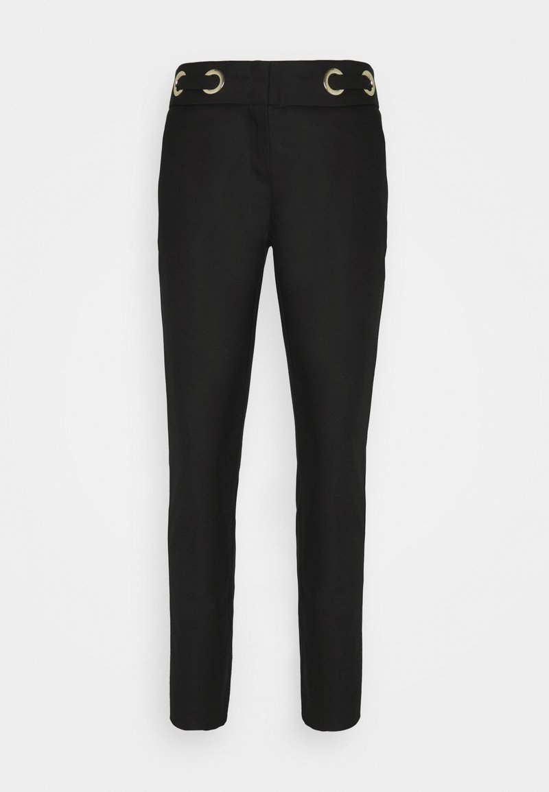 comma - LANG - Trousers - black