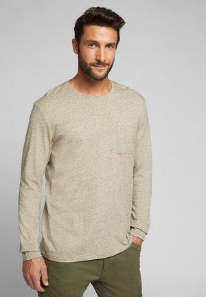 Long sleeved top - cream beige