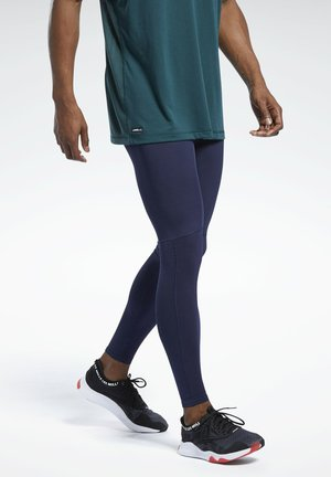 LES MILLS® COMPRESSION TIGHTS - Collants - blue