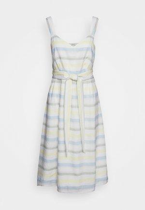 STRIPE - Day dress - off white