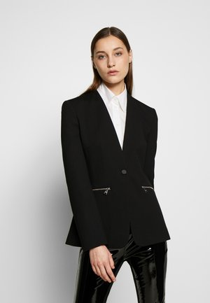 PUNTO JACKET LOGO TAPE - Blazer - black
