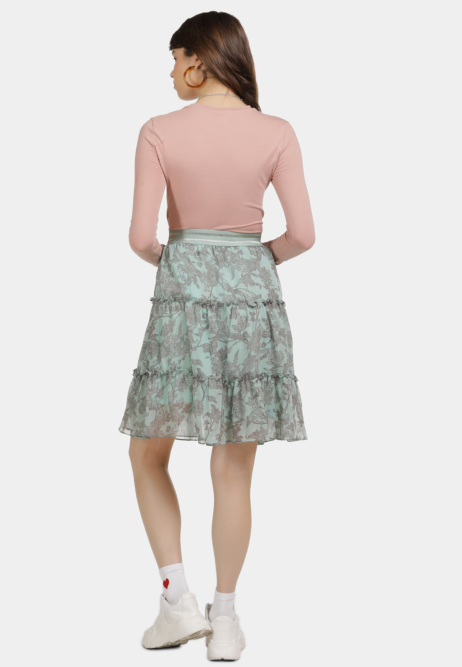 For Cheap Women's Clothing myMo A-line skirt minze 5VOF8Tp6Q
