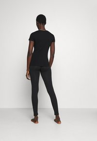Emporio Armani - LEGGINGS - Pyjama bottoms - nero black - 2